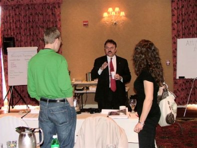 Bob LaBrie with Seminar Attendees